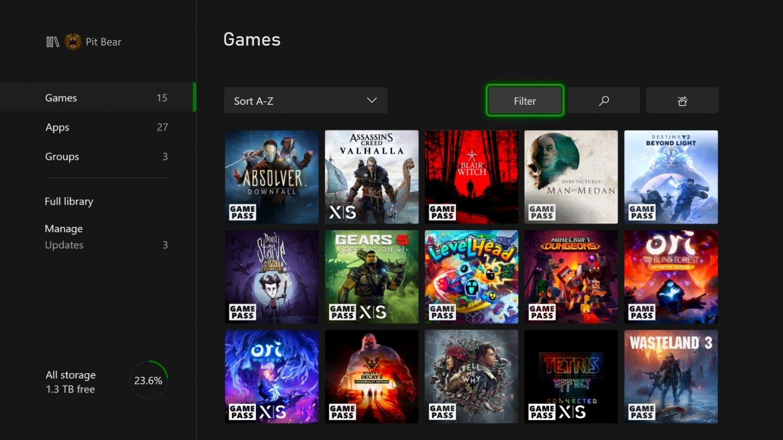 XGP用户现在可以预加载并未推出的XGP游戏