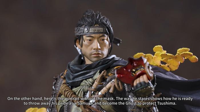 Prime1新品《对马岛之鬼》主角境井仁1/4雕像 售价待定