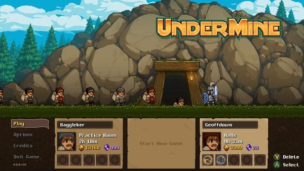《地下矿工 UnderMine》中文版百度云迅雷下载v1.1.0
