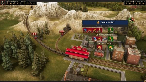 《铁路公司 Railroad Corporation》中文版百度云迅雷下载集成Yellow Fever DLC