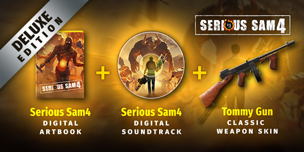《英雄萨姆4 Serious Sam 4》中文版百度云迅雷下载v1.07