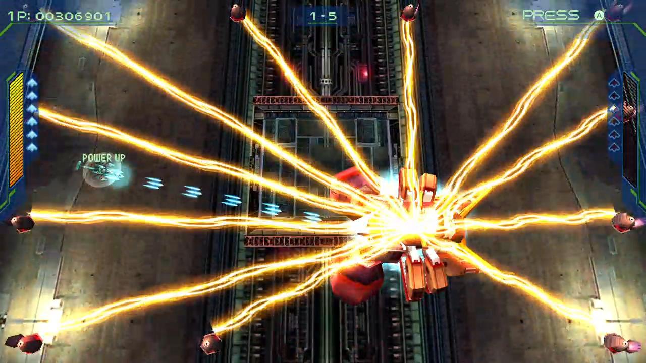 彩京名作《零式枪手2》将于年末移植登陆Steam平台