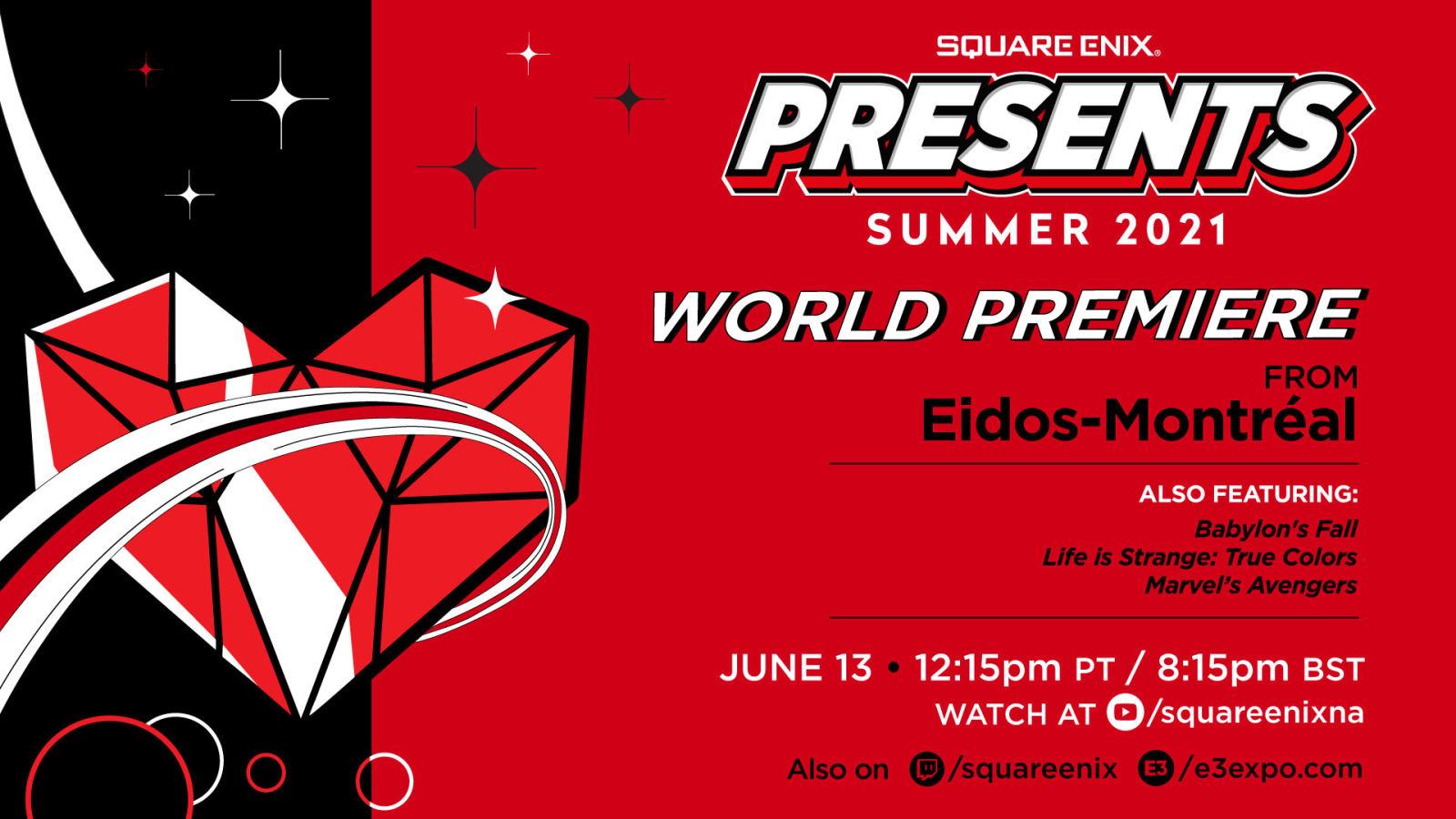 Square Enix将于北京时间6月14日举办E3发布会