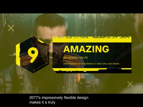 《赛博朋克2077》多家评分出炉,居然还有给低分的