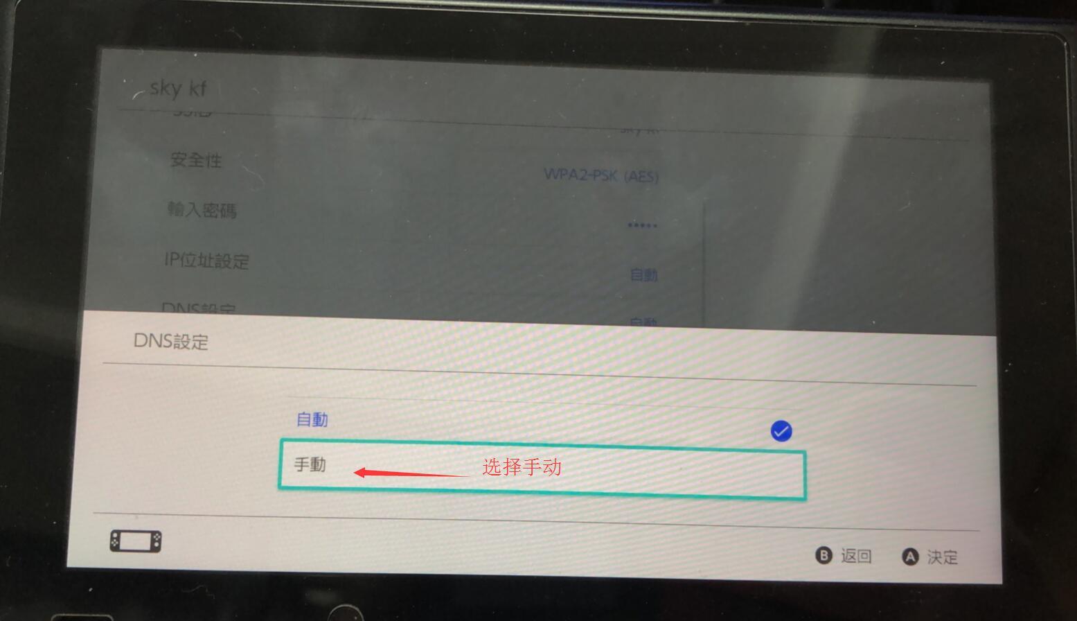 NS SWITCH 【DNS修改教程】