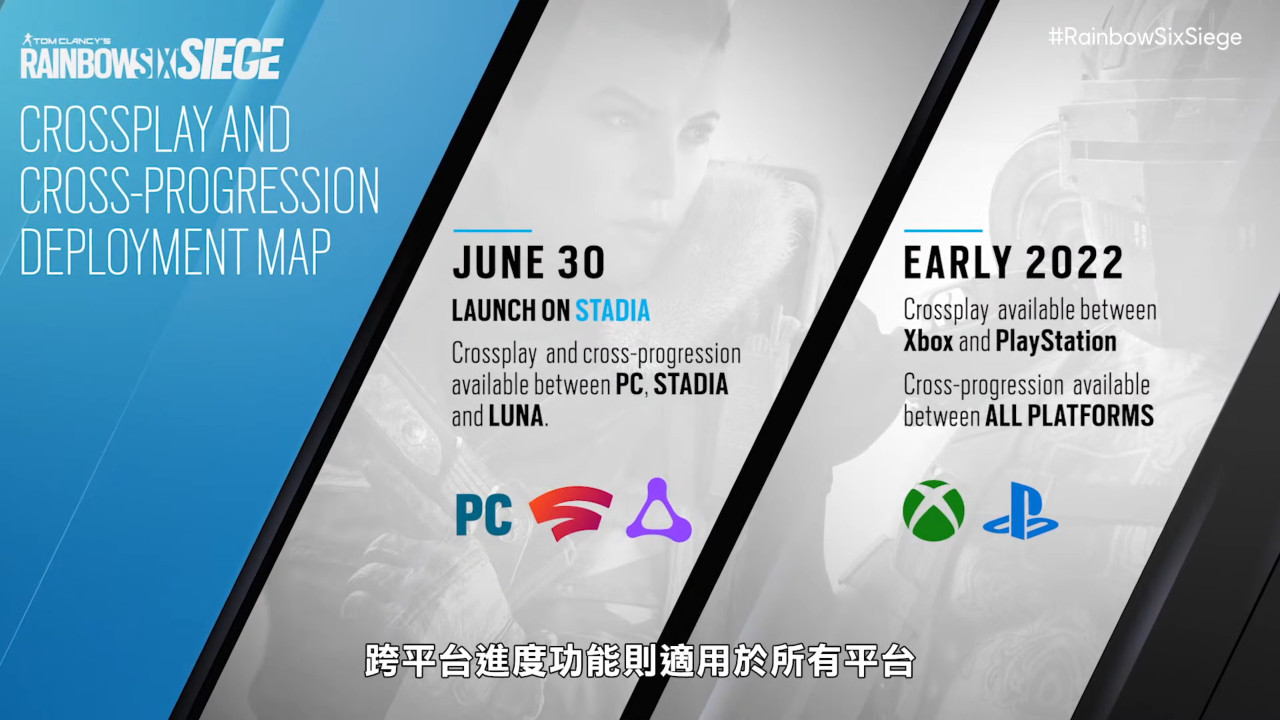 《虹彩六号:围攻》揭露跨平台游玩计划,全新改版「北境航星」14日上线