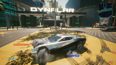 《赛博朋克2077》更真实的物理碰撞MOD电脑版下载