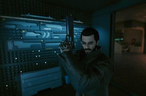 《赛博朋克2077》杀出重围男主亚当捏脸MOD电脑版下载