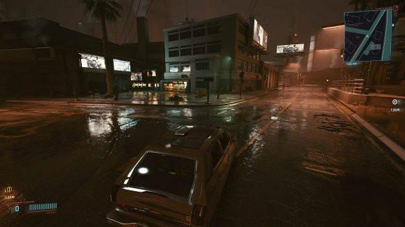《赛博朋克2077》道路更加湿润MOD电脑版下载