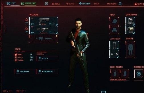 《赛博朋克2077》男性角色梦幻开局存档电脑版下载