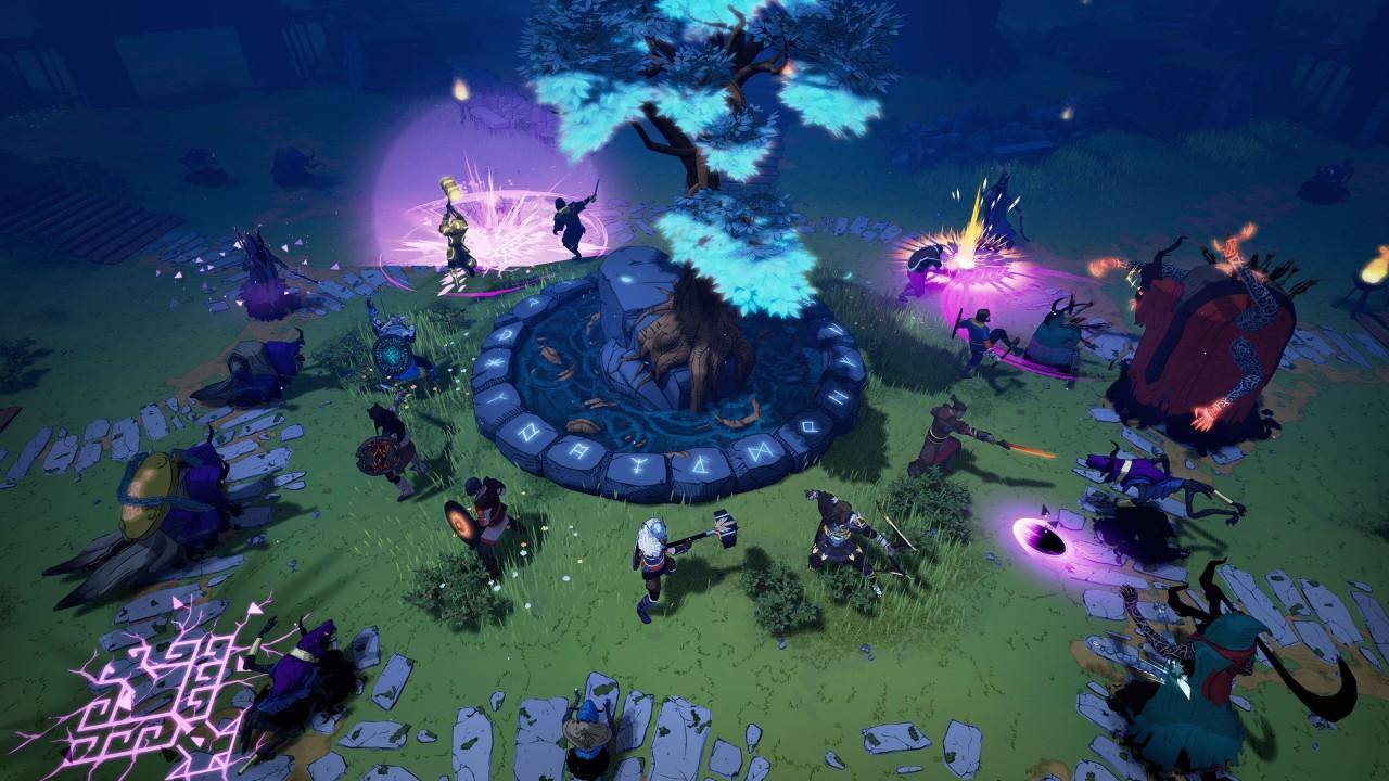 多人维京生存《Tribes of Midgard》7月上架,随机世界探索,抵御巨人并建造家园
