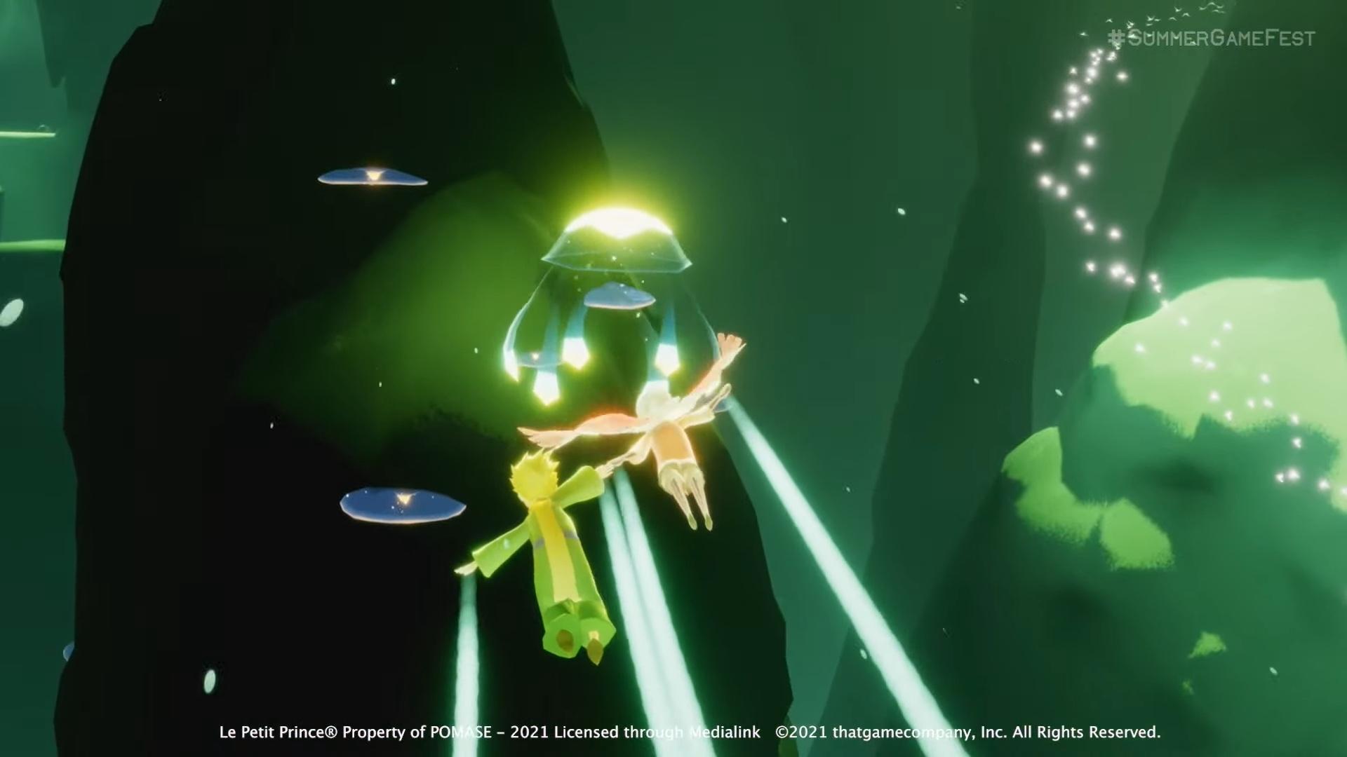 《Sky 光·遇》Switch版6月底上市,《风之旅人》开发商治愈新作