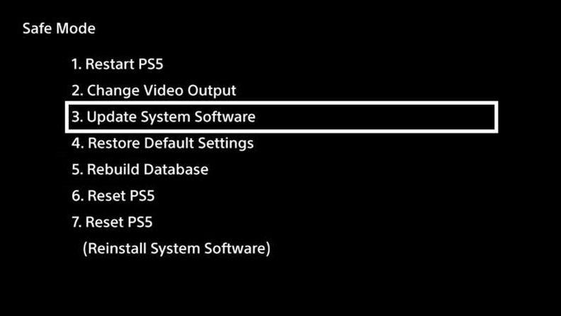 如何进入PS5的安全模式?安全模式有什么用?