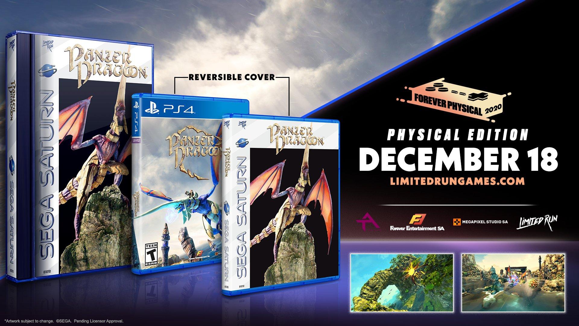 《铁甲飞龙:重制版》推出PS4限量实体版 18日预售