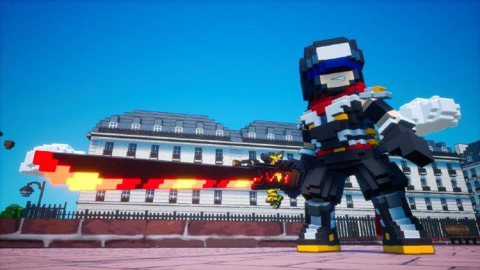 PS4/NS《方块地球防卫军》2021年春季推出中文版